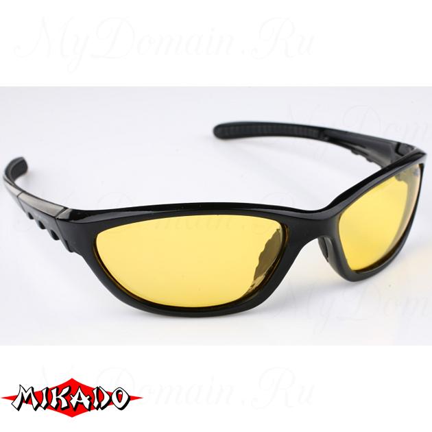Очки поляризационные Mikado 81901 (желтые линзы), шт