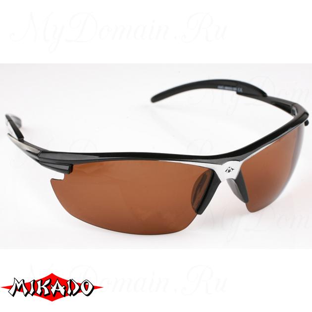 Очки поляризационные Mikado 86002 (коричневые линзы), шт