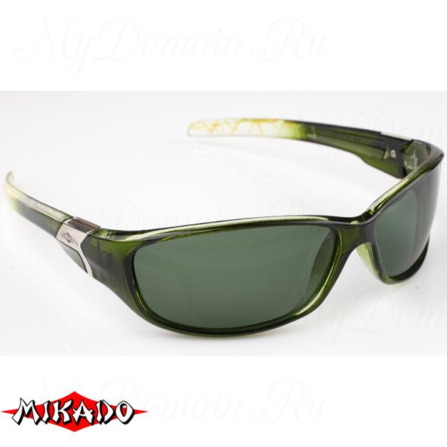Очки поляризационные Mikado 86004 (зелёные линзы), шт