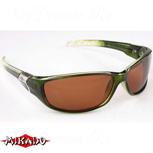 Очки поляризационные Mikado 86004 (коричневые линзы), шт