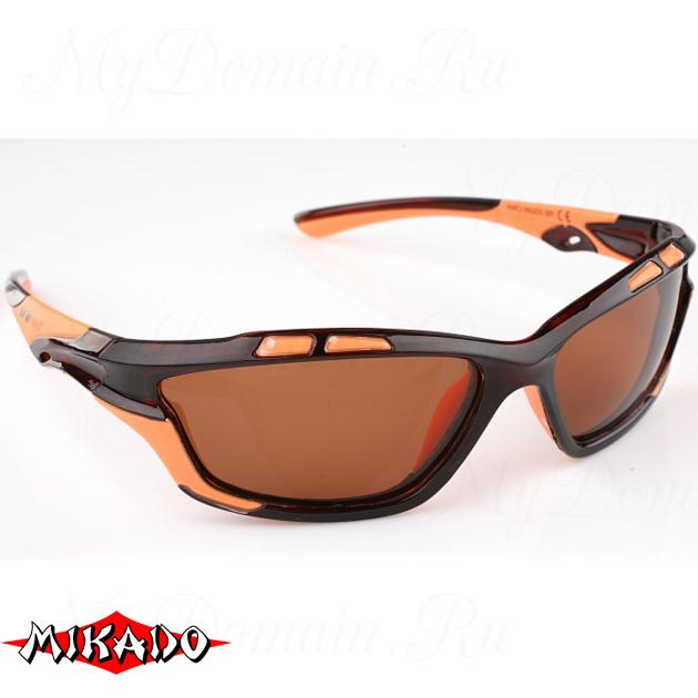 Очки поляризационные Mikado 86005 (коричневые линзы), шт