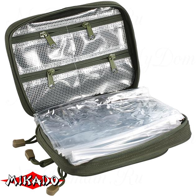 Сумка для рыболовных принадлежностей Mikado UWI-211605 (21 x 16 x 5 см.), шт