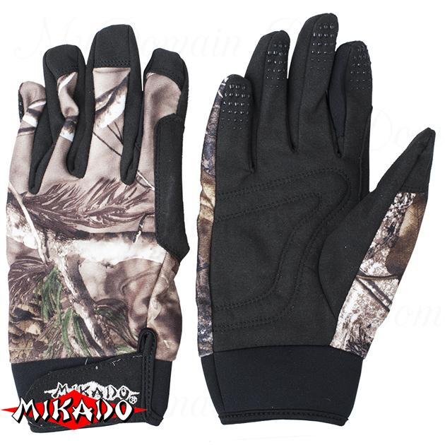 Перчатки рыболовные Mikado UMR-09 размер XL, шт