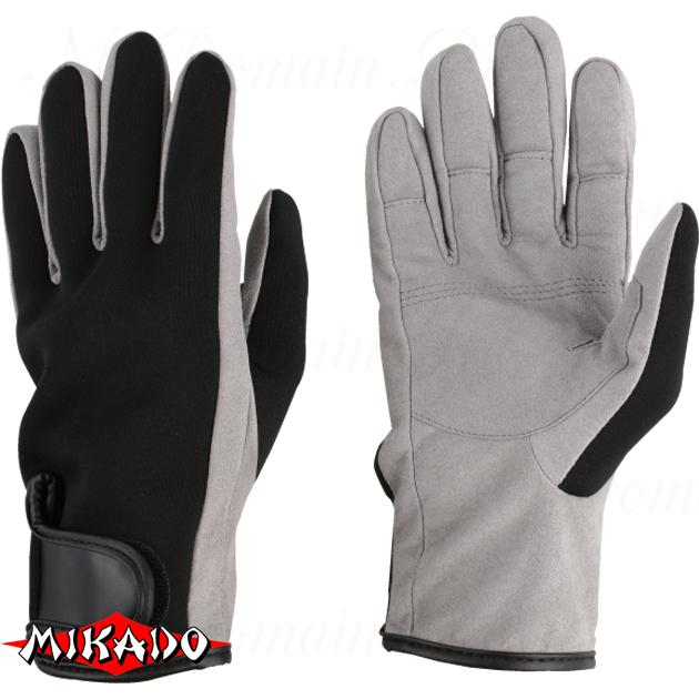 Перчатки рыболовные неопреновые Mikado UMR-05 размер L, шт