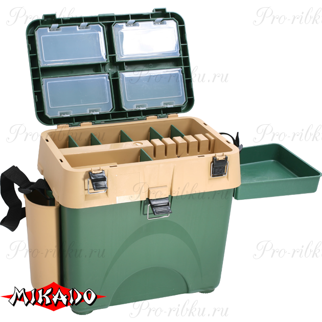 Зимний рыболовный ящик Mikado UAC-I002 (45 x 38 x 26 см.), шт