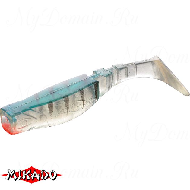 Виброхвост Mikado FISHUNTER 8 см. / 62  уп.=5 шт., упак