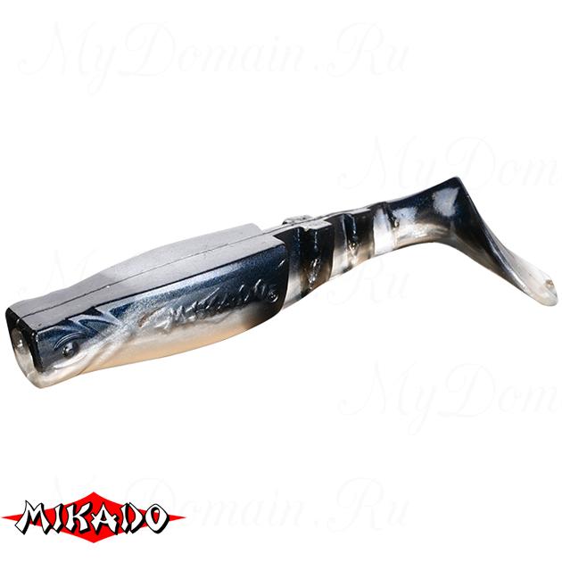 """Виброхвост Mikado FISHUNTER 2 """"съедобная резина"""" 7.5 см. / 355  уп.=5 шт., упак"""