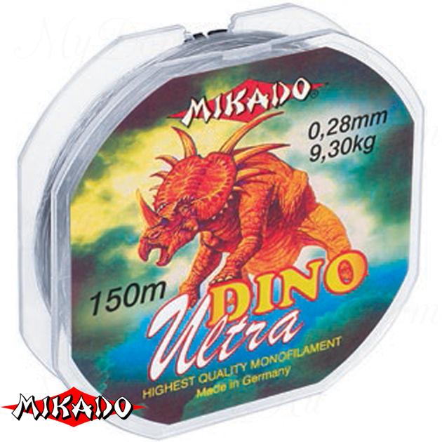 Леска мононить Mikado DINO ULTRA 0,45 (150 м) - 17.10 кг.  уп.=10 шт., шт