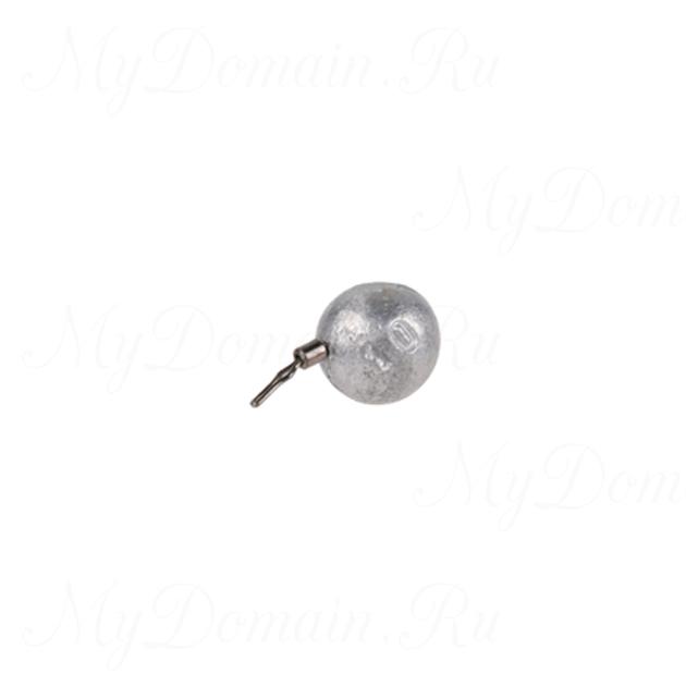Грузила для дроп-шота Mikado Ball, 5 гр., уп.=4 шт., упак