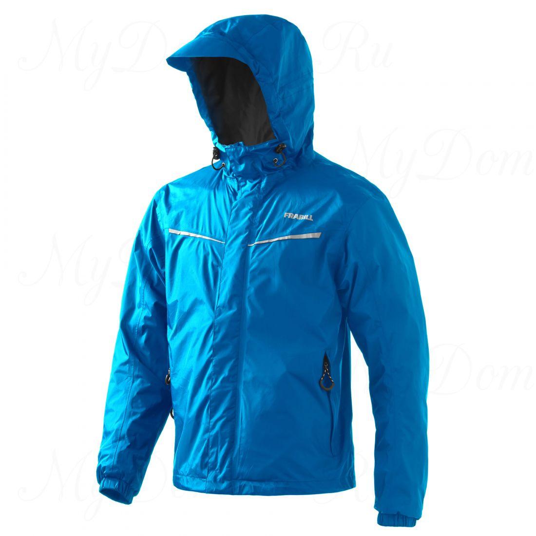 Куртка штормовая FRABILL Stow Jacket Costal Blue, р. 2XL