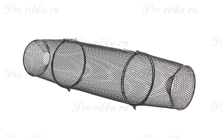 Раколовка Frabill Torpedo Crawfish Trap, черная, цилиндрическая, длина 79 см, диаметр 23 см