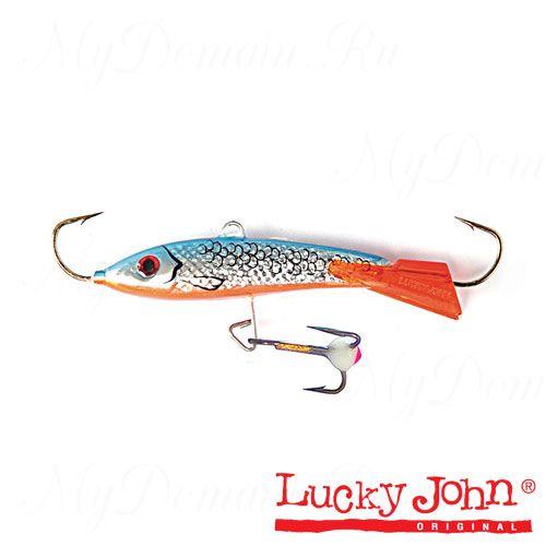 Балансир Lucky John CLASSIC 7 + тройник, 70мм, 20г, цвет 45H, блистер